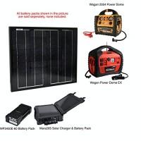 Instapark 30-watt Solar-powered Battery Charger for Instapark Mars20S, DRPP600 Powerpack Series & Wagan Power Dome Series